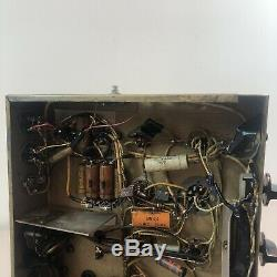 1950's Tube Integrated Amplifier Thordarson Transformers 6L6 Output 6SJ7 Preamp