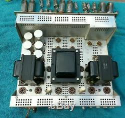 1961 H. H. SCOTT 272 Stereo Integrated Tube Amplifier Rare