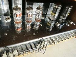 1964 Mcintosh Ma 230 Stereo Integrated Tube Amp Excellent