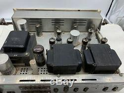 (1) SCOTT LK-48 tube stereo integrated amplifier in great condition recently svc
