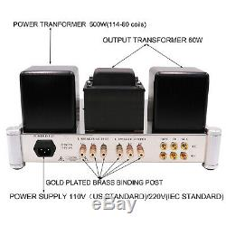 1set TUBE AMPLIFIER Stereo Class A Push Pull KT88 Valve Integrated AMP Brand New