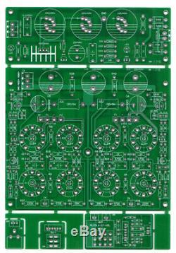 6P14/EL84 Push-pull HiFi Class AB Stereo Tube Integrated Amplifier DIY KIT 13W2