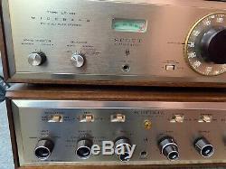 AUDIOPHILE H. H. SCOTT LK-72 Tube Stereo Intergrate Amplifier + LT-110 Perfect
