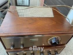 AUDIOPHILE H. H. SCOTT LK-72 Tube Stereo Intergrate Amplifier + LT-110 Perfect