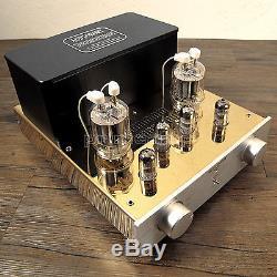 AUDIOROMY FU29 x 2 Vacuum Valve Tube Hi-end Tube Integrated Amplifier 110v-240v