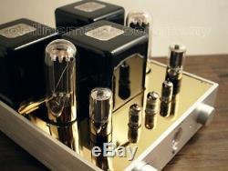 AUDIOROMY M-805 x2 POINT to POINT 70Watt Vacuum Tube Hi-end Integrated Amplifier
