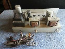 Admiral Se Integrated Single Ended Stereo Tube Amplifier Stereophonic Super 20