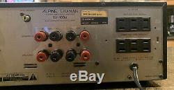 Alpine Luxman LV-103u Hybrid Tube/MOSFET Stereo Integrated Amp, #H90818544A(G)