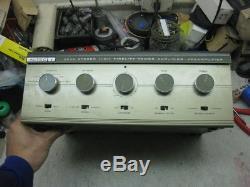 Altec Lansing High Fidelity integrated stereo tube amplifier model 353A