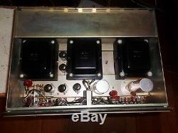 Altec Lansing Integrated stereo tube amplifier model 353A ALL ORIGINAL