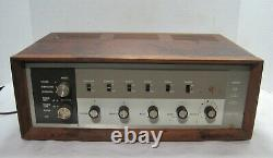 Approved Products Model 21-7095 Stereo Tube Amplifier==bugle Boy Tubes