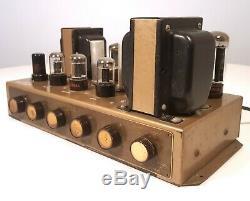 Bell 2200b Integrated Tube Amplifier Mono 1955 Vintage Tube Amp