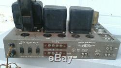 Bell 3D tube amp, working, 6v6 tubes