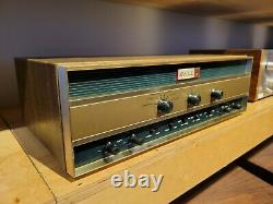 Bell Sound 2420 Tube Integrated Amplifier Fully Functional with All Tubes