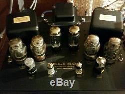 Cary SLI 80 Signature Vaccum Tube Integrated Amplifier