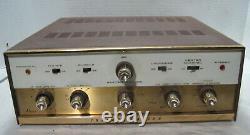 Channel Master Model 6601 EL84 Tube Integrated Amplifier