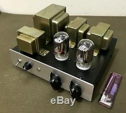 Charming triode! 6FY7 stereo single- ended 1.3 W output vacuum tube amplifier