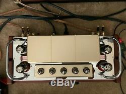Dared VP-99 / VP-80 HIFI Vacuum Tube Integrated Amplifier. Free Ship