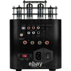 Dayton Audio HTA50BT Hybrid Stereo Tube Amplifier with Integrated DAC, Sub Out