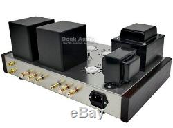 Douk Audio 6N8P+300B Vacuum Tube Amplifier HiFi Stereo Integrated Amp 7W2