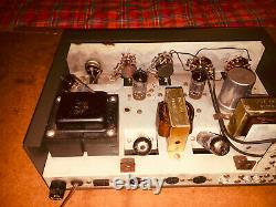 EICO AF-4 Stereo 4 watt Vintage Tube Amplifier, Class A Single Ended