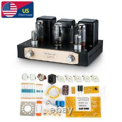 EL34 Audio Stereo Tube Integrated Amplifier Single-end Class A Power Amp DIY KIT