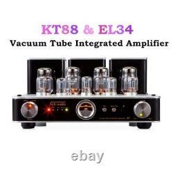 EL34 R8 Vacuum Tube Integrated Amplifier Stereo HiFi 2.0 Headphone PowerAmp 220V