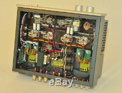 EL34 Vacuum Tube Integrated Amplifier HiFi Push-pull Headphone Power Amp Remote