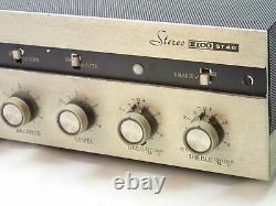 Eico ST40 Vintage Tube Integrated Amplifier Estate Item Rough Needs Restoration