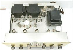 Exceptional Scott 222C Tube Amplifier, Less Than 10 hours, All Original Tubes