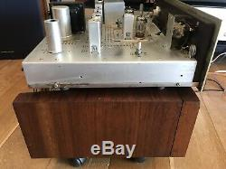 FISHER KX-200 TUBE Integrated Amplifier With FISHER KM-60 FM MULTIPLEX TUNER