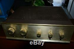Factory Wired Dynaco SCA-35 Stereo Tube Integrated Amplifier