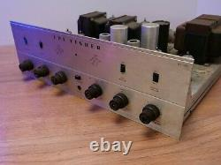 Fisher KX100 Vacuum Tube Integrated Amplifier Parts or Restoration
