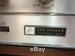 Fisher KX90 Stereo Tube Amplifier TECH FULLY RESTORED Sounds&Looks Amazing