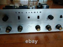 Fisher KX-200 Tube Integrated Amplifier with Phono Works, Needs Tubes