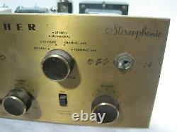 Fisher Model X-101 Integrated Tube Amplifier==EL84 Outputs