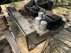 Fisher X202b Integrated Amplifier Tube Amp 7591 12AX7 For Parts