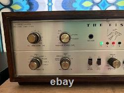 Fisher X-1000 EL34 Tube Integrated Amplifier Restored Amazing Condition 1960