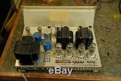 Fisher X-100B Tube Stereo Amplifier