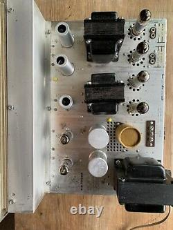 Fisher X-100-A Integrated Amplifier Tube Amperex 7189 12AX7 Working