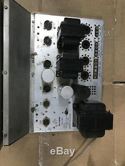 Fisher X-100-B Tube Stereo Master Control Amplifier