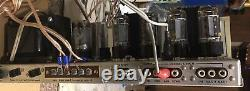 Fisher X-101-B All Tube Stereo Integrated Amplifier Amp READ DESCRIPTION