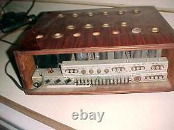Fisher X-202 Integrated Tube Amp Rare Hi-grade Vintage Amplifier