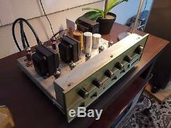Fisher x-100-A Legendary American made tube integrated amplifier
