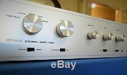 Fully Rebuilt DYNACO SCA-35 Integrated Stereo Amplifier EL84 Tube Amp / Preamp