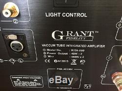 GRANT FIDELITY RITA Integrated Tube Amp Vus Retail $5999.99 FREE SHIP Canada