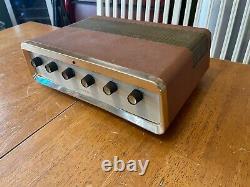 Grommes 20lj Little Jewel Integrated Stereo Tube Amplifier Sound Fabulous