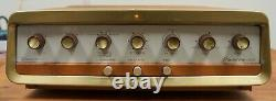 Grommes Model 40PG stereo tube integrated amp. Restored classic! $595 ONLY