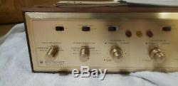HH Scott 299B Tube Integrated Amp Amplifier Mullard 12AX7 Telefunken Mint