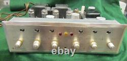 HH Scott 299C Stereomaster Vintage Tube Stereo Integrated Amplifier